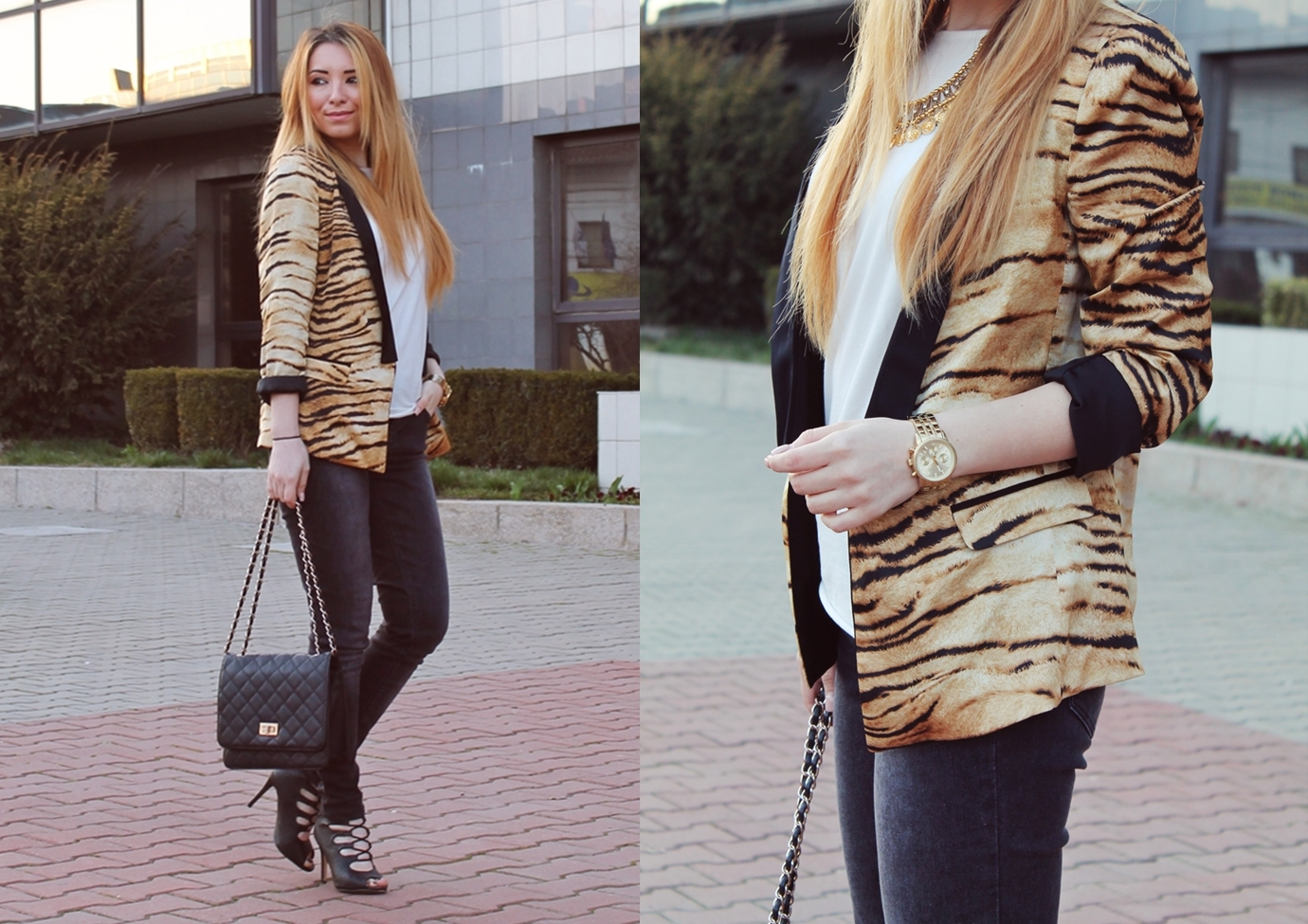 lookbook tiger print